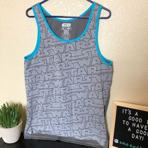 Star Wars mens tank top sleeveless shirt top
